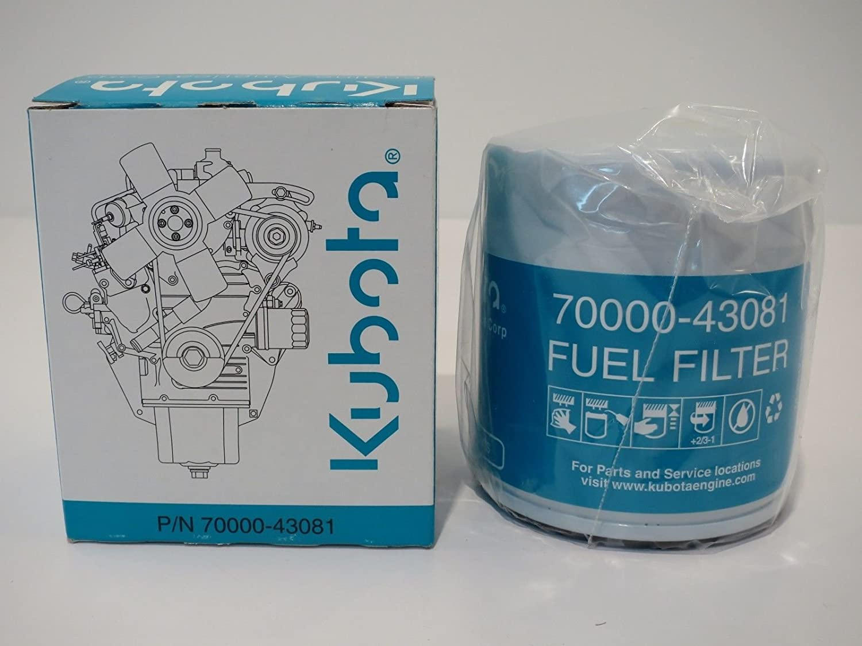 New Kubota Fuel Filter 15221 43080 70000 Location 43081 Garden Outdoor