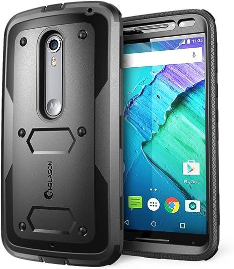 i-Blason Cubierta de protección híbrida para Motorola Moto X Style ...