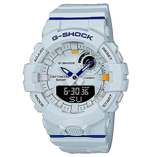 G-Shock by Casio GAB800DG-7A - Reloj analógico Digital para Hombre, Color Azul Claro: Amazon.es: Relojes