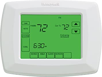 [DIAGRAM_5NL]  Honeywell RTH8500D 7-Day Touchscreen Programmable Thermostat,