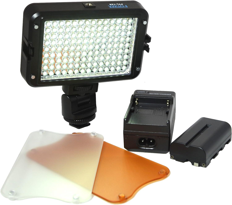 Fotima FTL-126 - Antorcha LED, con batería: Amazon.es: Electrónica