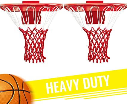 GothicBride Professional Heavy Duty Basketball Net All Weather Anti Whip 12 loops Fits Standard Indoor or Outdoor Rims