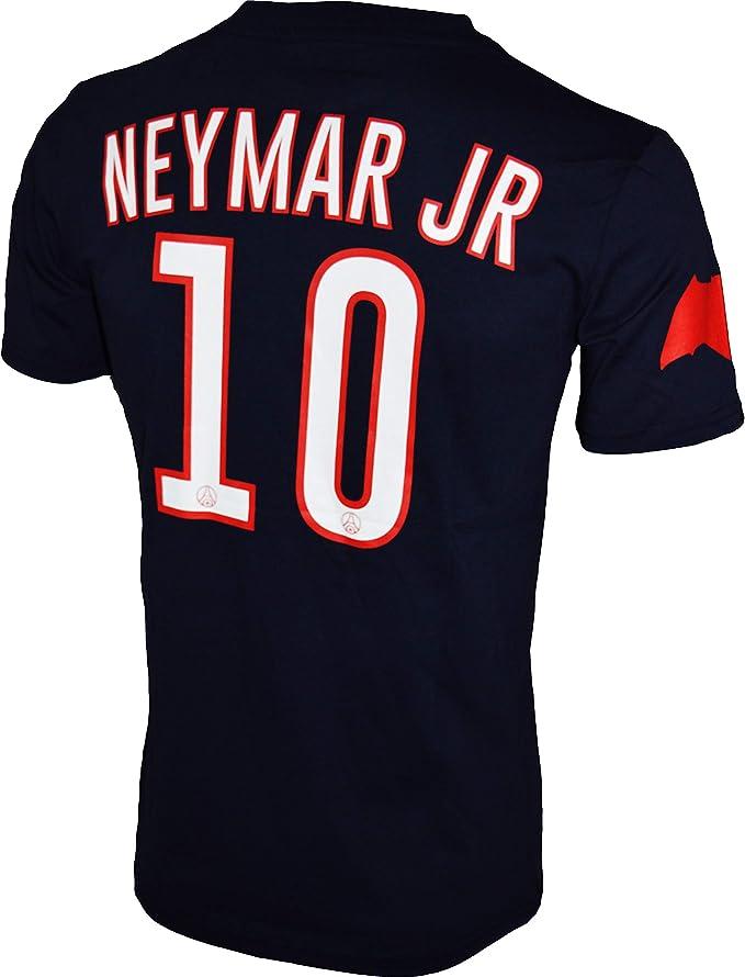 Paris Saint-Germain - Camiseta oficial para niño de Neymar Jr, Niños, azul, 6 años: Amazon.es: Deportes y aire libre