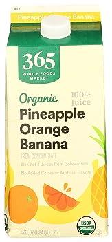 365 Everyday Value Organic Pineapple Juice