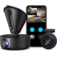 Dual Dash cam | VAVA Dual 1920x1080P FHD | Front and Rear dash camera | 2560x1440P Single Front| for cars with Wi-Fi…