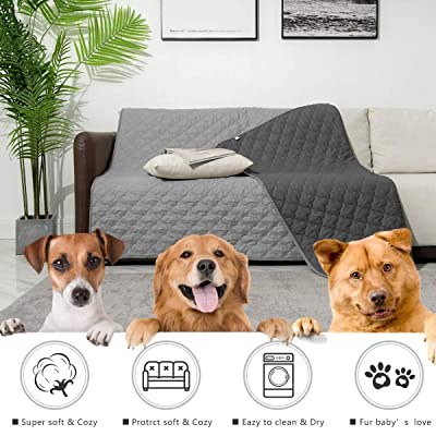 SUNNYTEX Waterproof Dog Bed Cover Dog Mat Pet Pad Pet Blanket for Couch Sofa Bed Mat Anti-Slip Furniture Protrctor