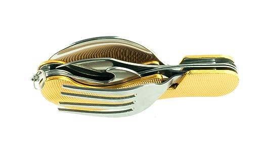 101 opinioni per Huntington set di posate 4 pezzi (coltello, forchetta, cucchiaio, apribottiglie)