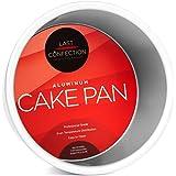 "Last Confection 6"" x 4"" Deep Round Aluminum Cake Pan - Professional Bakeware"