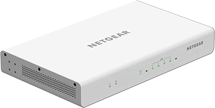 NETGEAR Insight Managed VPN Business Router (BR200) - Site-to-Site Secure VPN |Up to 256 VLANs | Supports OpenVPN and IPsec |Network Firewall Security | 4 x 1G Ethernet Ports