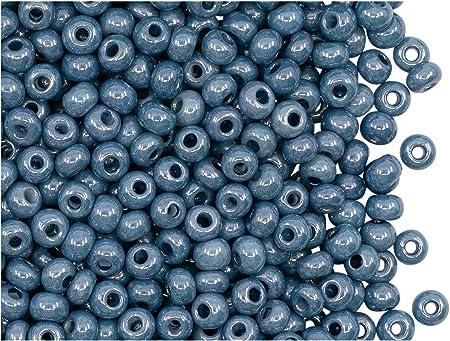 6 Czech Coated Drops 14 x 8 mm Light Blue Green