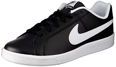 new product 2be09 bb7b3 Nike Men s Court Royale Black and White Sneakers - 9 UK India (44 EU