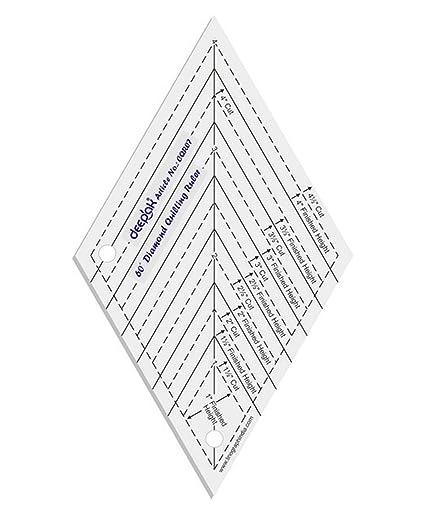 amazon com 60 diamond shape quilt designing and crafting quilting