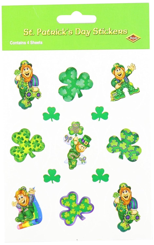 4 Shs//Pkg Leprechaun Stickers