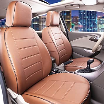 LAND ROVER RANGE ROVER SPORT  Full Set Leather Look Beige Seat Covers Protectors