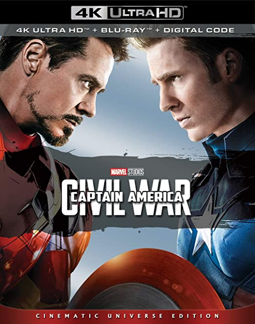 CAPTAIN AMERICA: CIVIL WAR 4k ultra HD