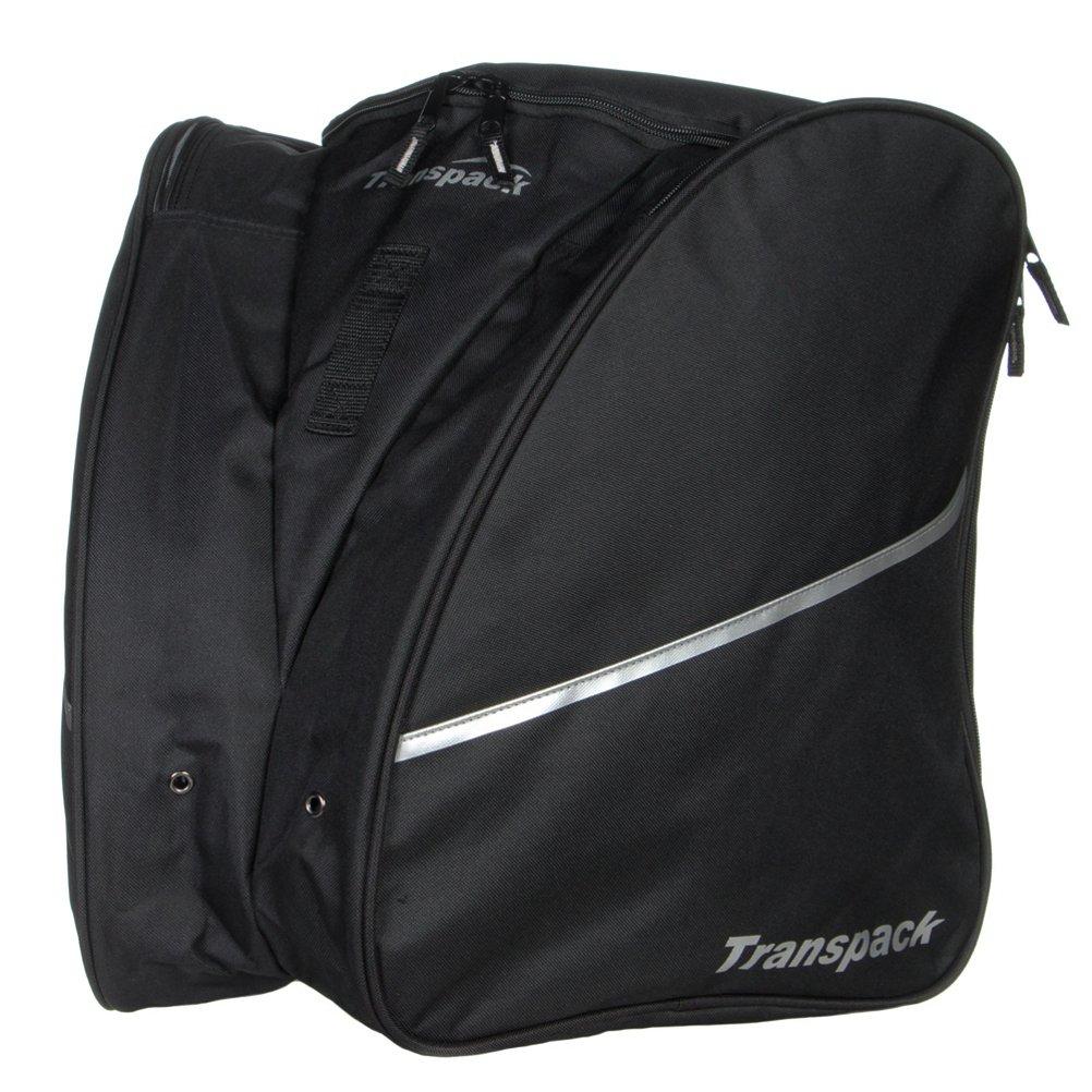 TranspackエッジIsosceles Ski Boot Bag B0006FYKBY ブラック ブラック