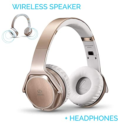 Amazon.com: 2 en 1 auriculares Bluetooth con tapa plegable ...