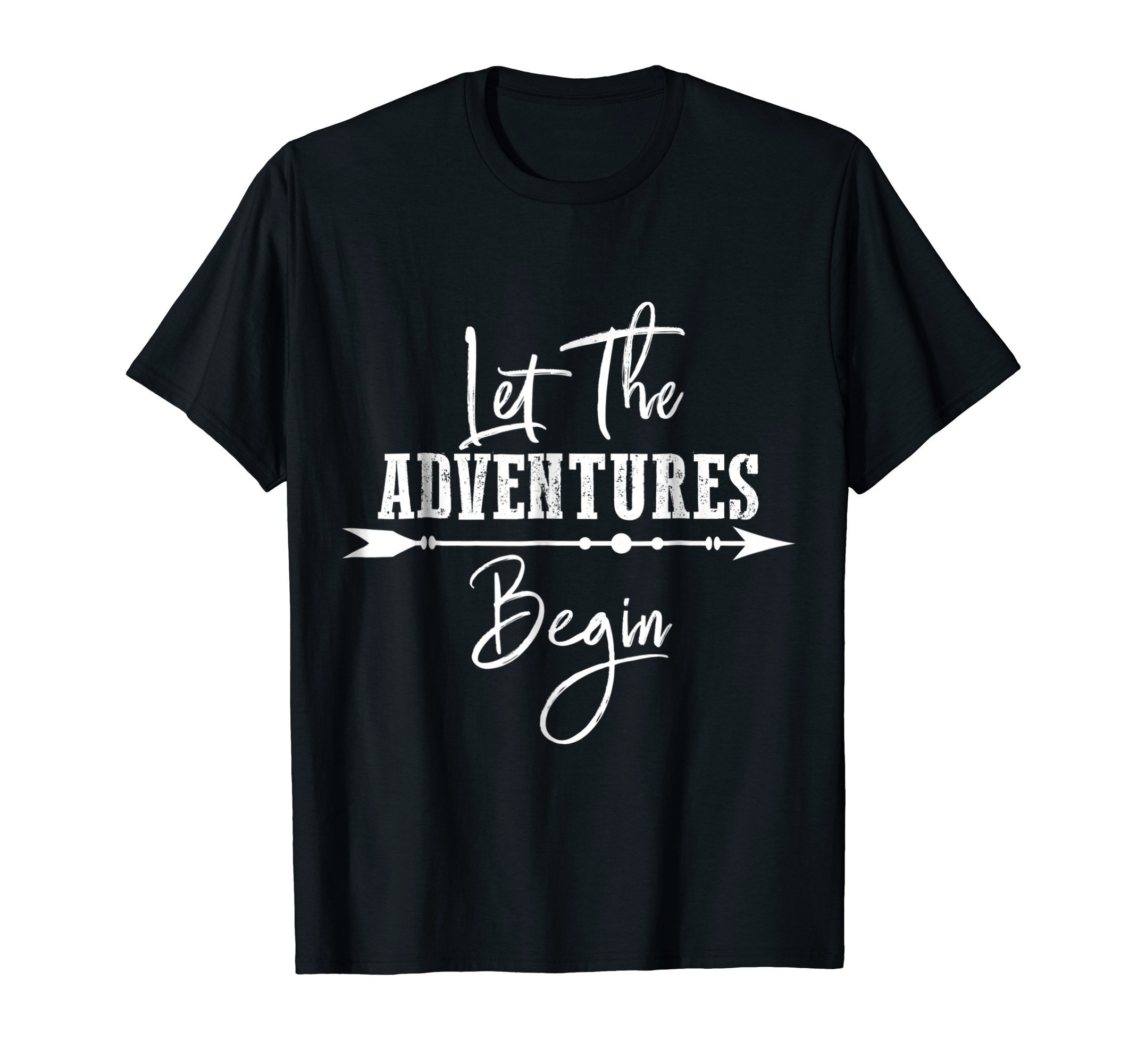 Let The Adventures Begin Travel Explore T-Shirt