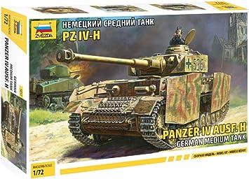 Trumpeter Modellino Carro Armato German Panzer IV Ausf.H Media Tank Scala 1:16
