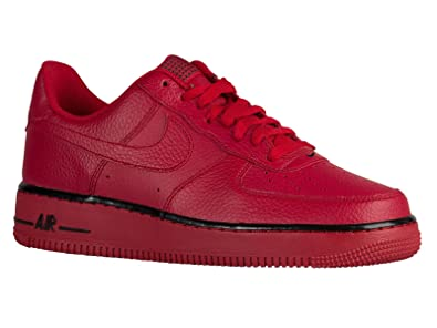 the best attitude f8609 99bfb Image Unavailable. Image not available for. Color  Nike Men s Air Force 1  Low Gym Red Black Gym ...