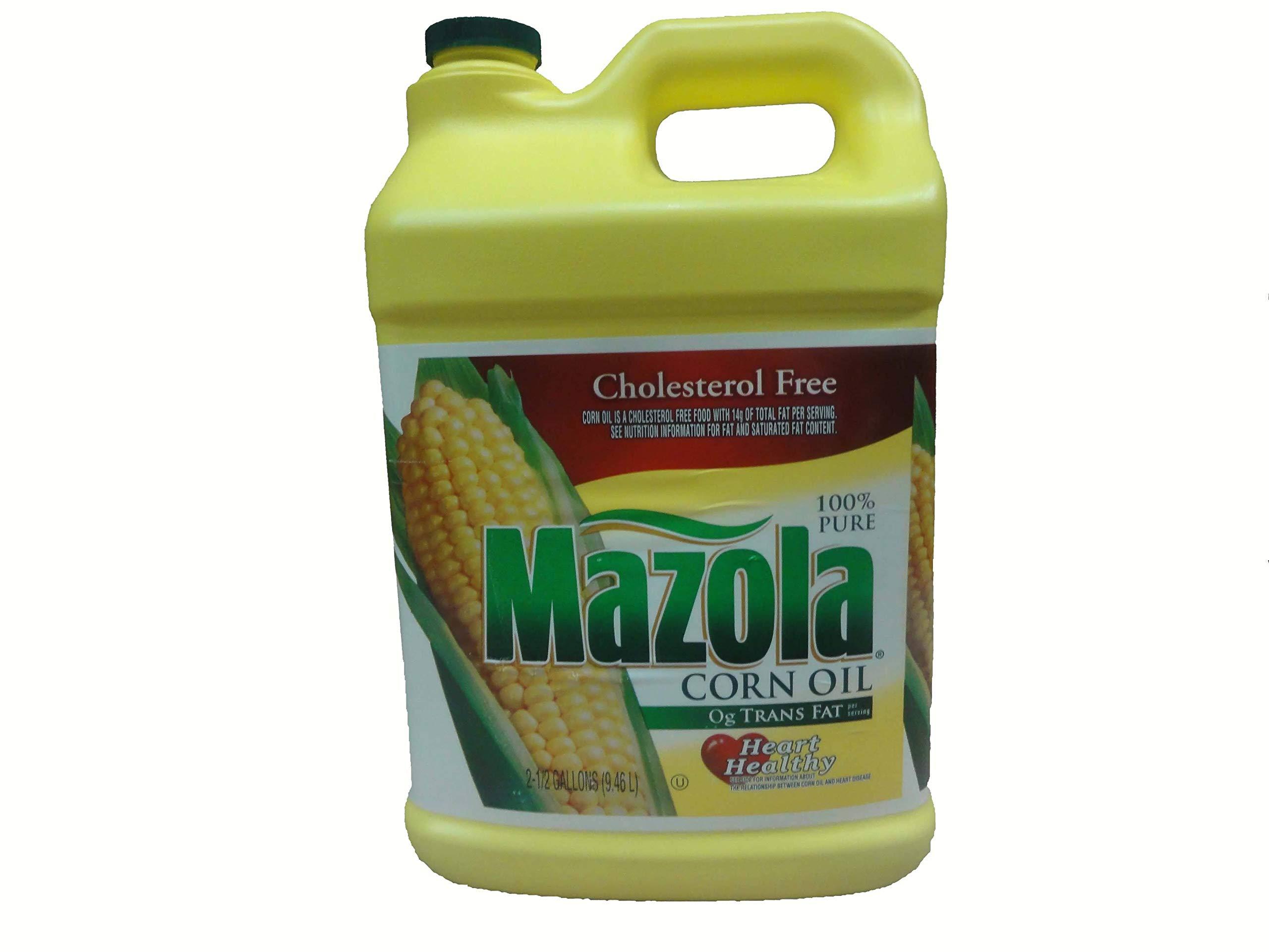 Mazola Corn Oil - 2.5 gallon jug (2 Pack) by MAZOLA ZT