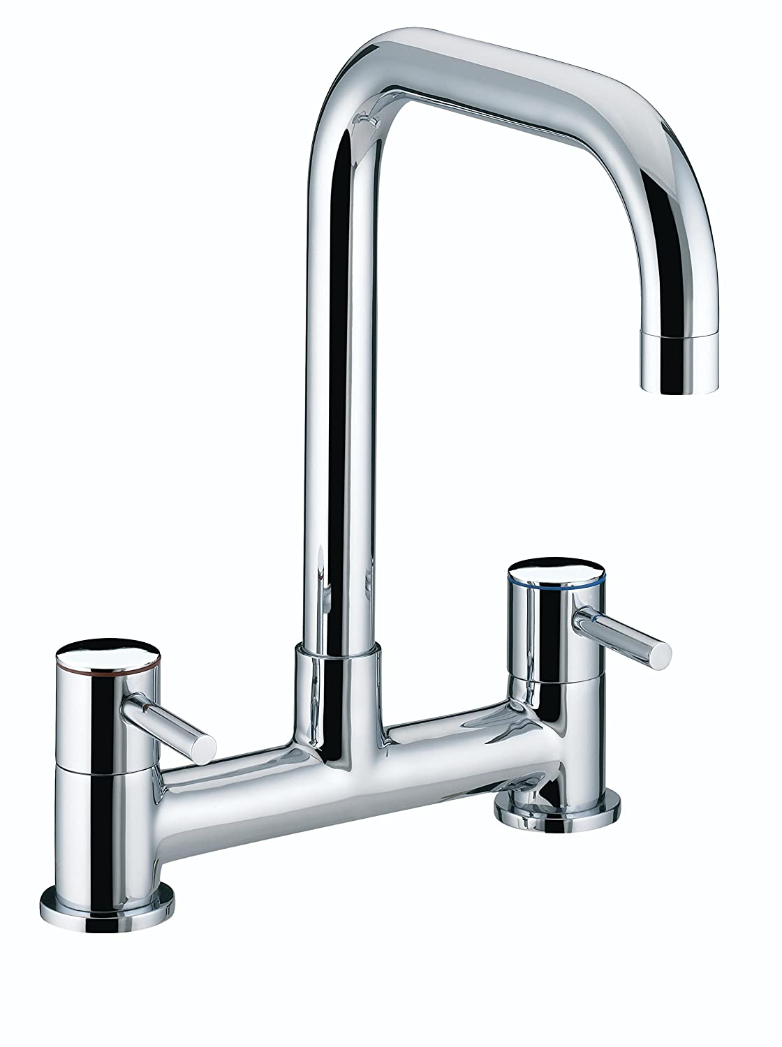 Bristan To DSM C Torre Deck Plated Sink Mixer - Chrome: Amazon.co ...