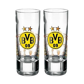 BVB Borussia dortmund Schnapsglas 2er Set 0,04 l
