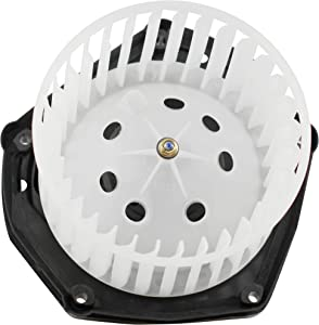 BOXI Heater Blower Motor w/Fan Cage for 1999-2000 Cadillac Escalade/ 1997-99 Chevy C1500 C2500 K1500 K2500 Truck/ 97-00 GMC Yukon Tahoe Suburban 19131213