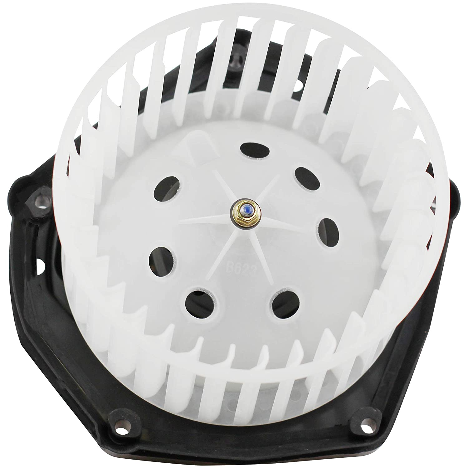 BOXI Heater Blower Motor w//Fan fit for Cadillac Escalade Chevrolet 89019320