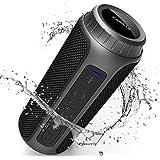 Zamkol Altavoz Bluetooth, 30W Altavoces Bluetooth portatiles, Sonido Estéreo de 360 Grados y Bass Mejorado, Sonido…