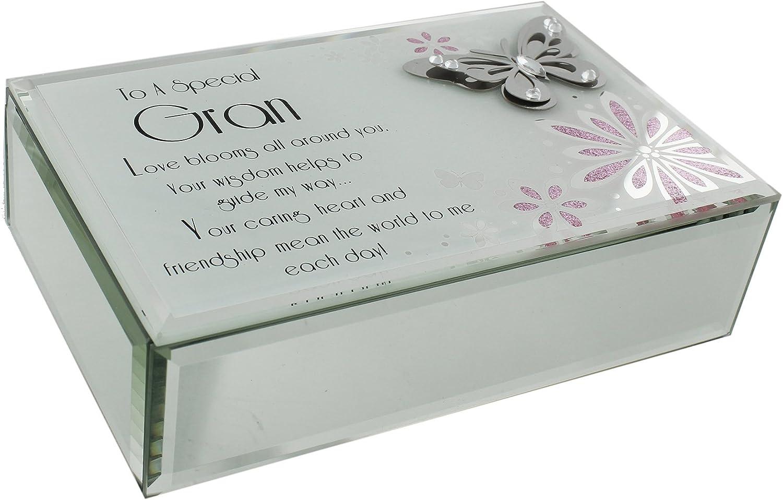 Regalo para abuela: caja especial con mariposa, gran valor ...