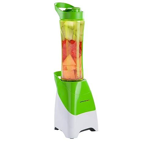 Ultratec-Küche Americana Blender to Go. Batidora de pie 2 en 1. Recipiente de 0.6 l. Prepare Bebidas fácil y rápidamente y llévelas consigo, ...