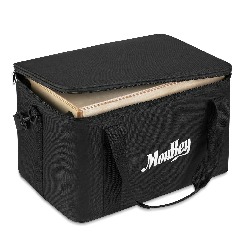 Moukey Kids Cajon DCD-1K Wooden Small Mini Cajon Drum Box with Bag, Birchwood Percussion String by Moukey (Image #6)