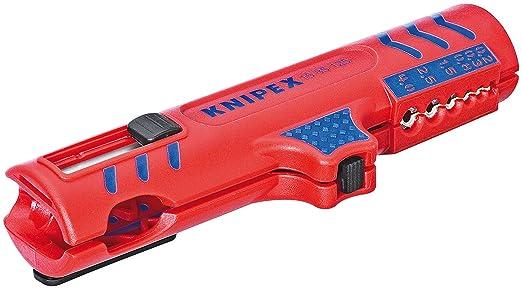 4 opinioni per KNIPEX 16 85 125 SB Utensile spelacavi universale 125 mm