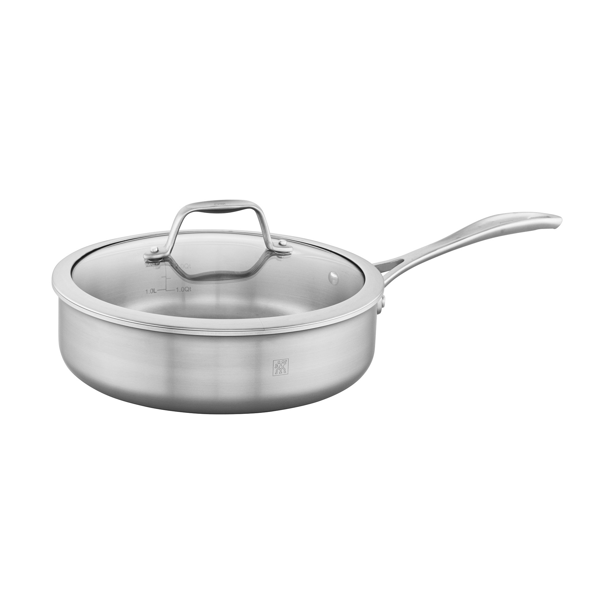 ZWILLING Spirit 3-ply 3-qt Stainless Steel Saute Pan
