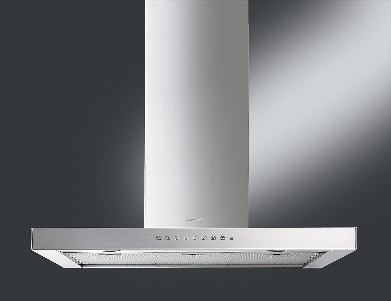 Smeg KSE920X - Campana (660 m³/h, Canalizado, 45 dB, 56 dB, 68 dB, De pared): Amazon.es: Hogar