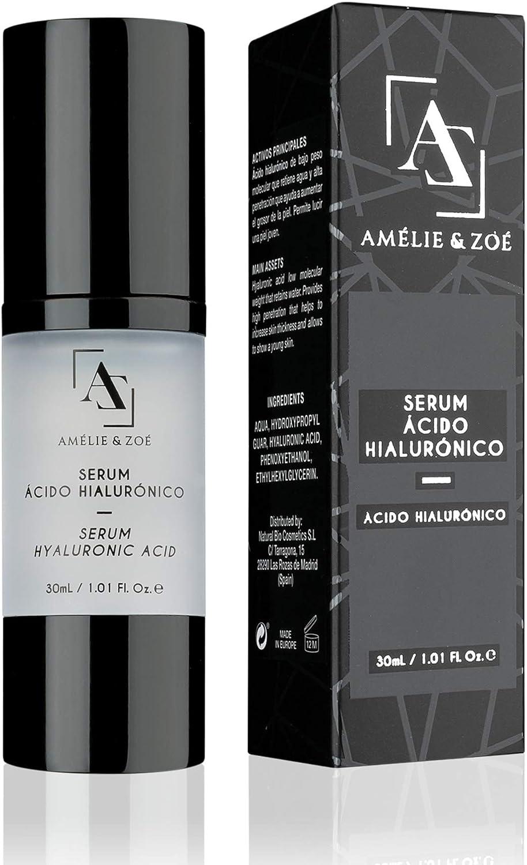 Serum facial con ácido hialurónico para efecto lifting – Potente antiarrugas que aporta elasticidad e hidratación a la piel para combatir los efectos de la edad – Textura ligera y de fácil absorción