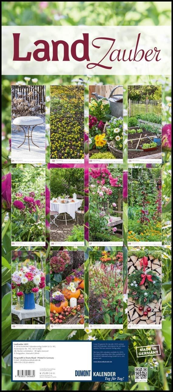 Landzauber 2019 Dumont Wandkalender 9783832040680 Amazon Com Books