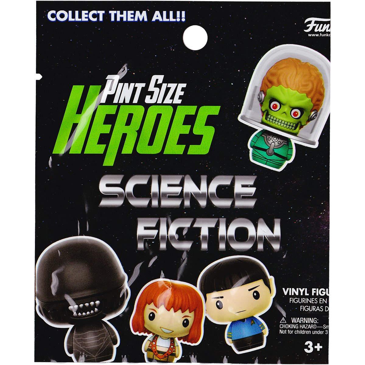 Micro Vinyl Figure Funko Pint Size Heroes Sci-fi x Mars Attacks Martian 12485