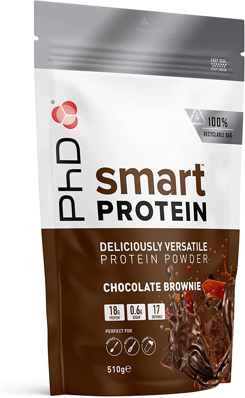 PhD Smart Whey Protein en Polvo Brownie de chocolate 900g