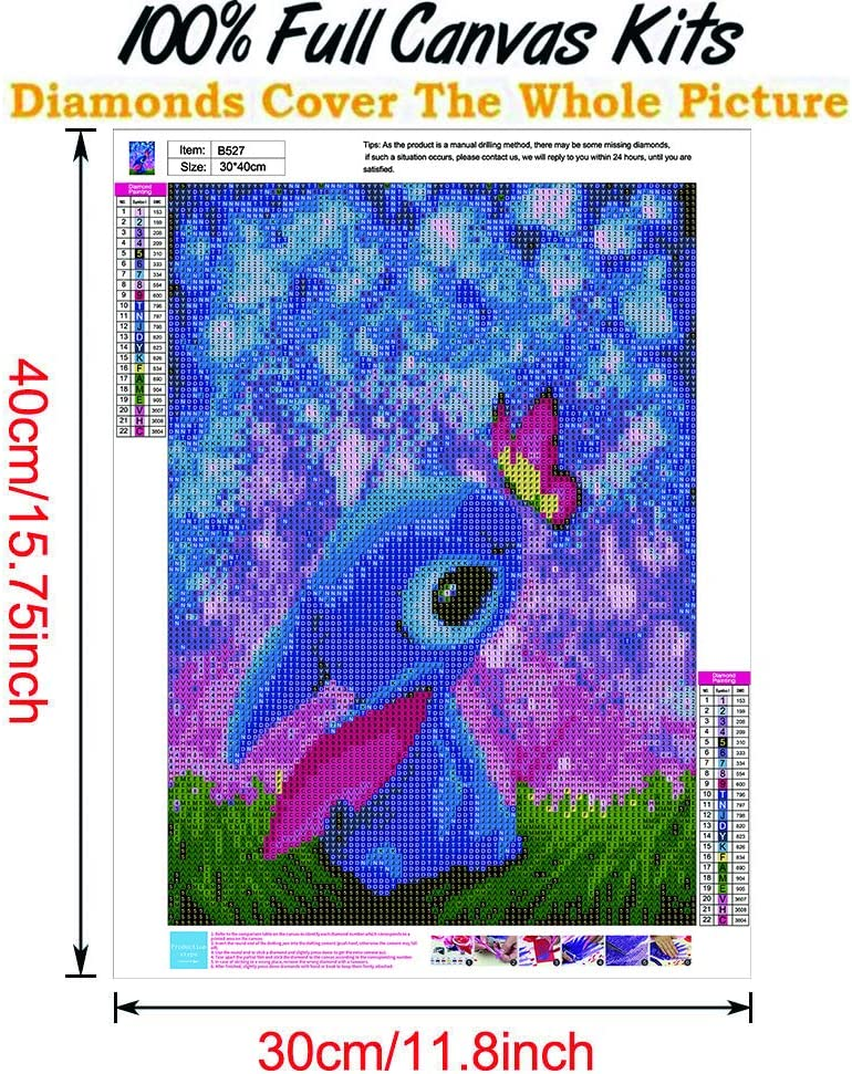 5D Stitch Diamond Painting Full Drill,Diamond Art Perfect for Relaxation and Home Wall Decor,12x16inch DIY Diamond Painting Kits