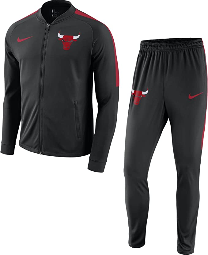 Nike Chi M Nk Dry TRK Suit Chándal Chicago Bulls, Hombre: Amazon ...