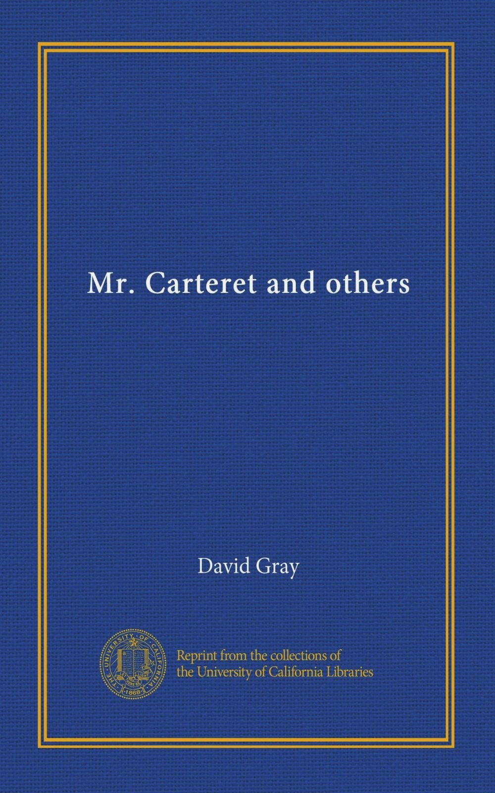 Read Online Mr. Carteret and others Text fb2 book
