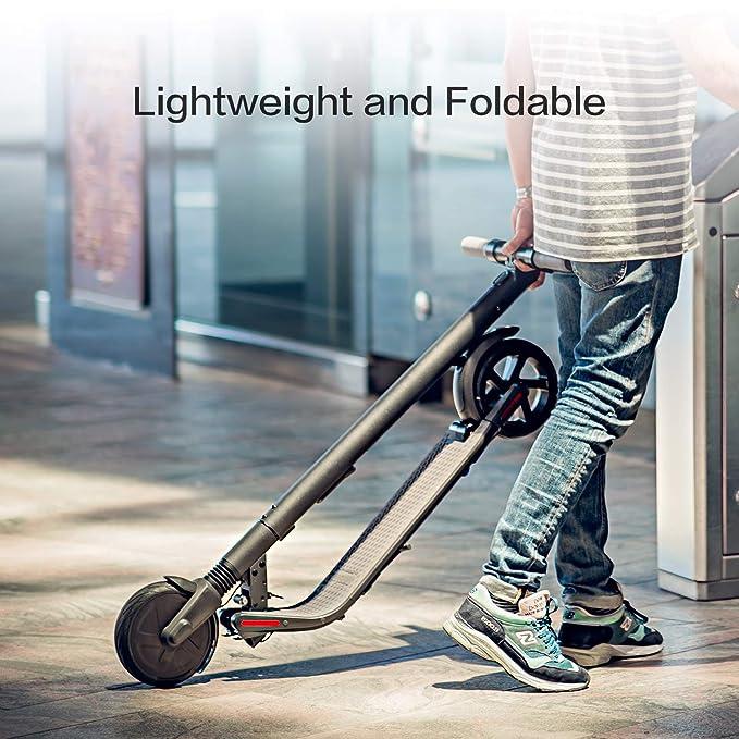 Amazon.com: Segway Ninebot ES1 - Patinete eléctrico plegable ...
