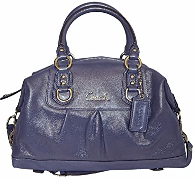 ... sateen signature carryall f15510 matching wallet satchel 88be7 97d7d   top quality coach ashley leather satchel style f15445 in iris eb3b2 f097d 0b53431cb8c64