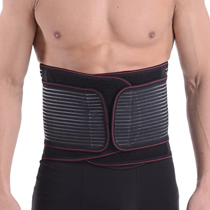 4c02018e608 Hisret Waist Trainer Cincher Stomach Control Belt for Men Workout Weight  Loss Ab Belt Body Shaper
