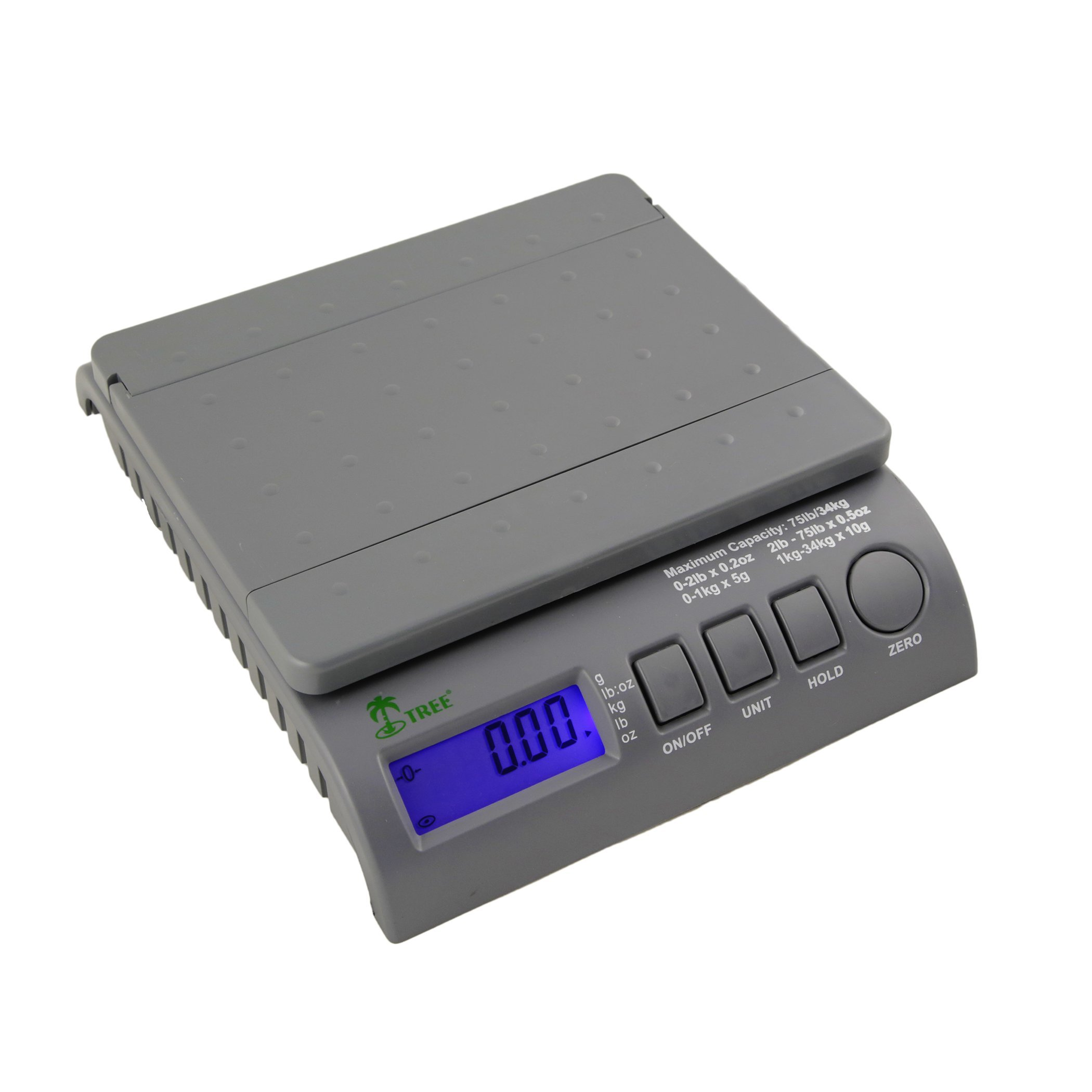 Digital Postal Shipping Postage Bench Scales 35 lbs by LW Measurements, LLC (Image #2)