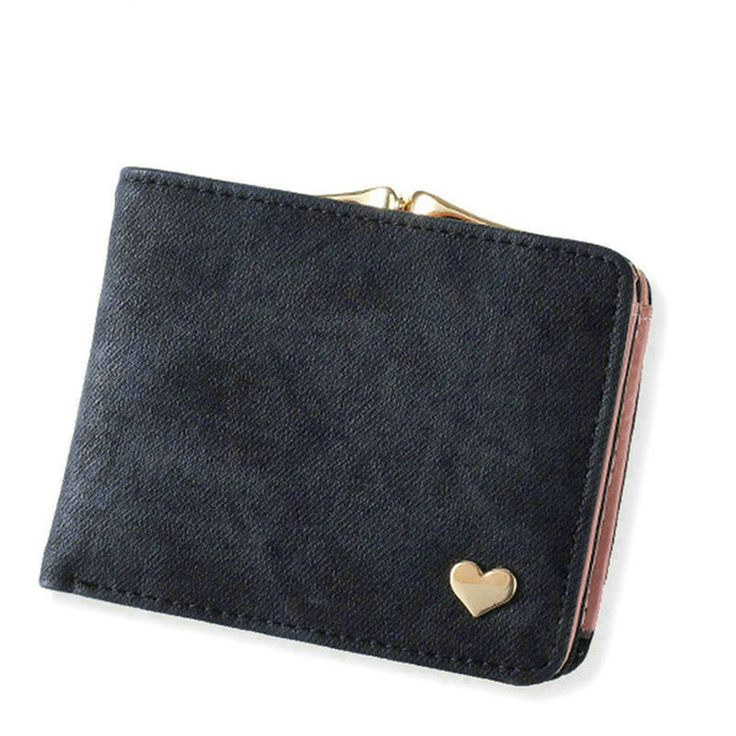 Cocainat New Woman Wallet Small Hasp Coin Purse For Women Luxury Leather Wallets Design Brand Mini Lady Purses Clutch Card Holder Black at Amazon Womens ...
