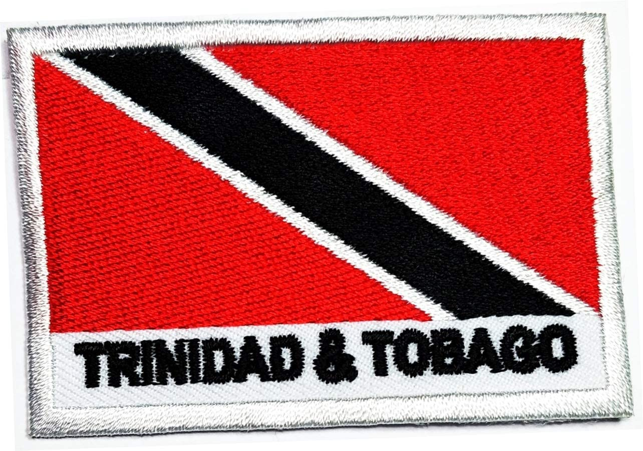 TRINIDAD /& TOBAGO Country Flag Embroidered PATCH Badge