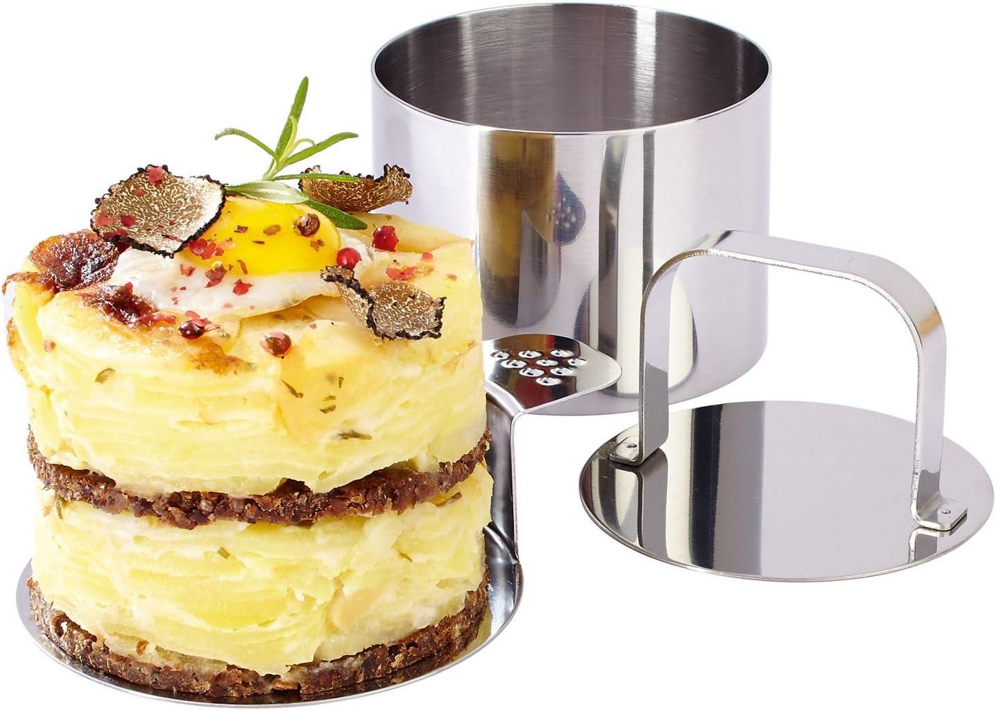 20 Stempel ERNESTO® Dessert- und Speiseformen-Set 20 Speiseringe 20